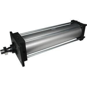 C(D)S1*N, cilindro pneumatico, doppio effetto, stelo semplice, tipo senza lubrificazione