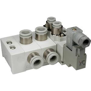 SS5Y7-60, Serie 7000 Mehrfachanschlussplatte Kassettenversion, Rohrversion