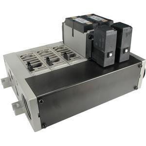 VV5FR3, Mehrfachanschlussplatte für Serie VFR3000, metrisch