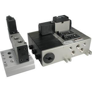 VV5FS2, Mehrfachanschlussplatte für Serie VFS2000, metrisch
