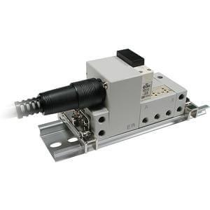 VV3Q11, řada 100, Vícenásobná připojovací deska - interní prodrátování