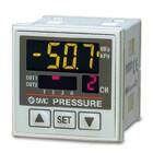 PSE20*, Vyhodnocovacia jednotka pre snímače tlaku a vákua, 4 kanálová