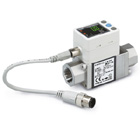 PF3W7-X445, Digital Flow Switch for Water, 3-Colour Display, Integrated display, IO-Link