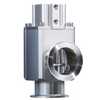 XLC100/160-X152, Aluminum High Vacuum Angle Valve, Double Acting, Bellows Seal