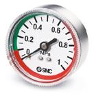 G#-L, Manometer mit Grenzwertanzeige, Ausführung mit Farbzonen