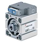 CVQ, Kompaktcylinder med magnetventil
