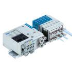 SS5J3-60D, řada 3000, Vícenásobná připojovací deska - D-sub konektor / konektor pro plochý kabel / konektor pro plochý kabel (jako PC)