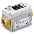 LFE, Elektromagnetyczny, cyfrowy przekaźnik przepływu, z 3-kolorowym wskazaniem