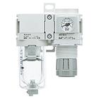 AC20B-D až AC40B-D Filtr + regulátor tlaku
