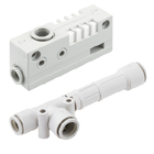 ZH-A, Vacuum Ejector, Box Style/Body Ported Style, Metric