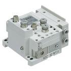 SS5Y7-10S6, Serie 7000, serielle I/O-Übermittlungseinheit (EX600), Fieldbus (IP67), Anschlüsse seitlich