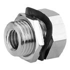 M5E, Miniatur-Verschraubung - Schottverbindung