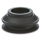 ZP3E, Bellows Flat Pad w/Groove (Suction Cups)
