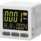 ZSE20A(F), High-Pressure, Digital Pressure Switch, 3-Screen Display (IP40)